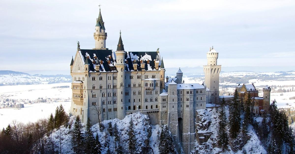 romantischsten Orte Deutschlands - Schloss Neuschwanstein