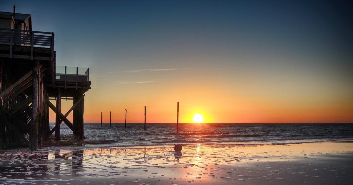 Die romantischsten Orte Deutschlands - Strandbar 54° Nord